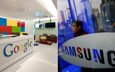 Google y Samsung realizan acuerdo para compartir patentes por 10 años